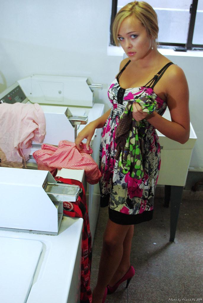 很熱的洗衣房