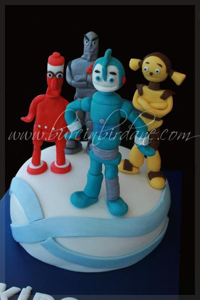 Robots Cake_