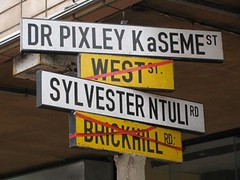 Durban Street Renaming