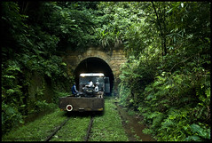 In to the Dark, CONGO AFRICA (Nicolas Diaz G) Tags: africa rain forest train nikon rainforest republic selva rail tunnel republik afrika congo rpublique repblica kongo afrique foresta brazzaville repubblica republiek    d80  equatorialforest nikond80