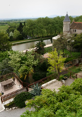 The view from my room in Chateau Ventenac