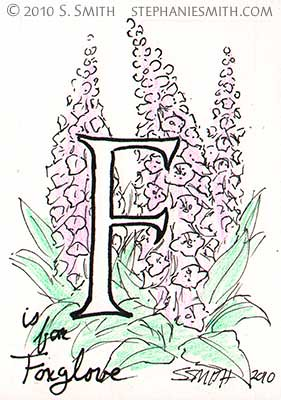 F is for Foxglove