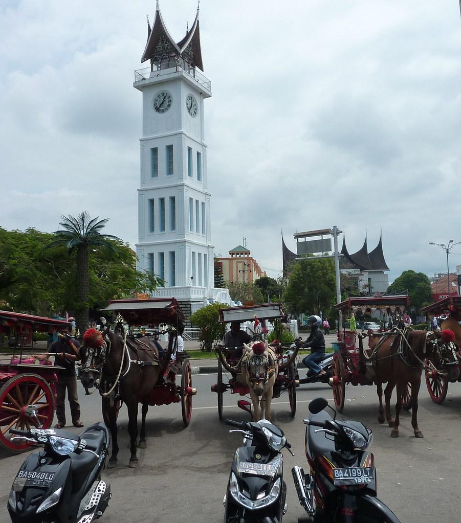 Sumatra-Bukittinggi Tour de l'horloge(100)