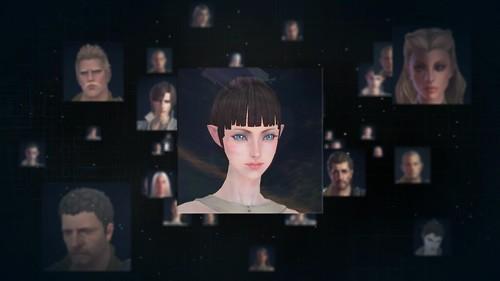 Улучшенная кастомизация персонажей TERA, High Elf Female
