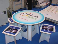 Branded Exhibiton Furniture using X-Board Print