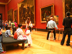 At the Louvre 20030425 070