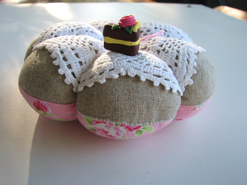 pin cushion made by Melissa of Clothwork