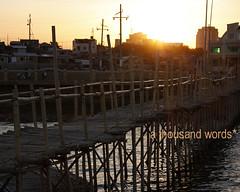 Bamboo walk on stilts [2] (Renato S. Orayani) Tags: lake photography philippines laguna lagunadebay metromanila athousandwords reni fishpen muntinglupa orayani renatoorayani reniorayani legazpisundaymarket baklad