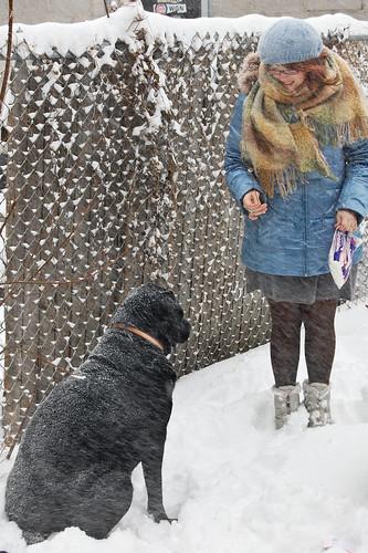 Me and my big ole dog.