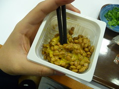 I'll eat natto until I like it! This time, my 3rd, it was almost good!