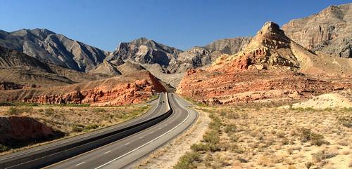 Interstate 15 South near the Utah-Arizon by Alaskan Dude, on Flickr