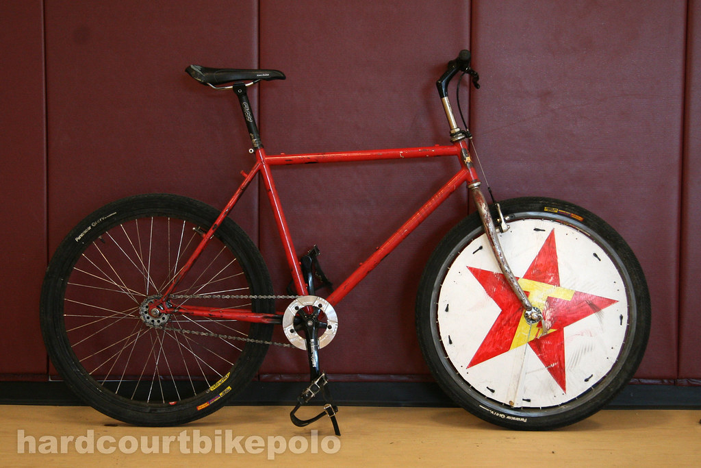 Ben's hardcourt polo bike full