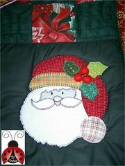 Trilho de Natal!!! (aplicao) (dessa_reis) Tags: quilt patchwork trilho aplicao