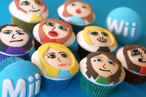 Mii Cupcakes