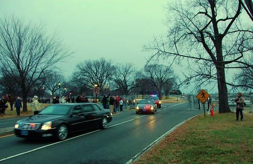 howard_Obama Motorcade
