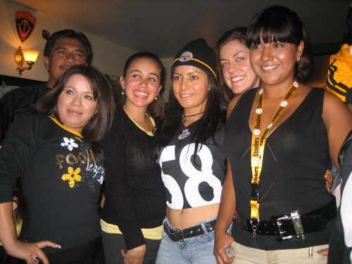 Steelers senoritas!