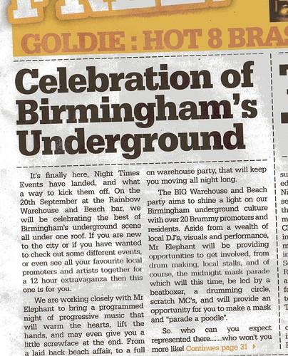 CelebrateUndergroundFrontPage