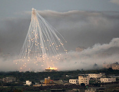 White Phosphorus Bombs (freedom!!!!) Tags: white children freedom israel justice palestine attack bombs infants gaza innocents occupation bloodshed phosphorus