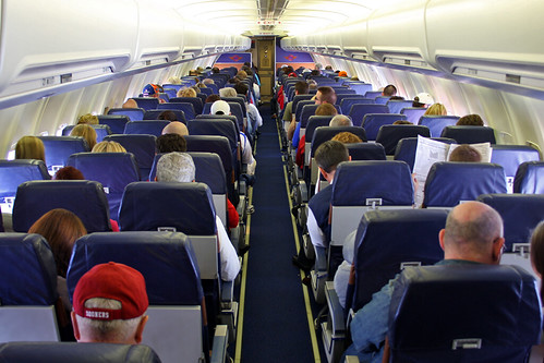 Southwest Airlines - Boeing 737-3H4 (N350SW) - Cabin
