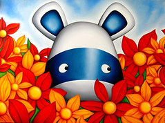Pick Me (Peter Smith Artist) Tags: cute art animal illustration painting naive popular showcase zeppo petersmith impossimal