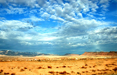 mesquite desert (rlonas) Tags: sky cloud desert nevada mesquite pfogold iclonedouti15runningthroughthemiddle butkeptthebuildingsontheothersideofthefreeway anotherfromtheparkinglotofthefalconridgehotel