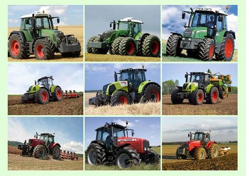 Ciągniki rolnicze - zdjęcia - pokaz