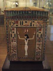 Coffin of Khnumnakht (peterjr1961) Tags: nyc newyorkcity newyork art museum themet metropolitanmuseumofart
