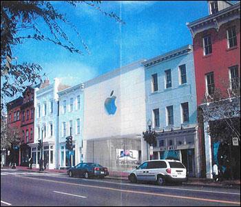 Design 3, Apple Store, Georgetown