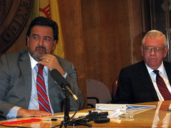 GOV. RICHARDSON WITH JOHN ARTHUR SMITH
