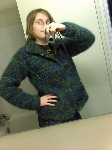 Garter Stitch Jacket for Me