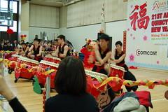 Folk arts drummers