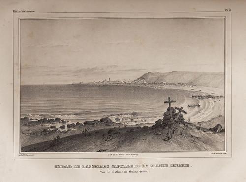 012- Ciudad de Las Palmas capital de la Gran Canaria-Vista desde el ismo de Guanarteme
