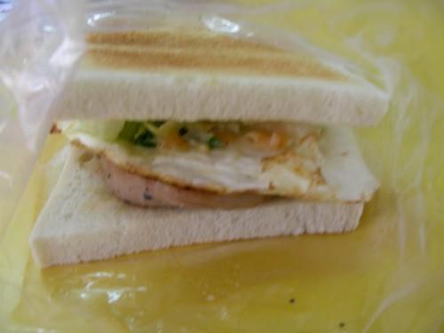 早餐-豬排土司