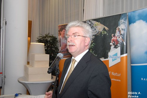 Bayerns Wirtschaftsminister Martin Zeil