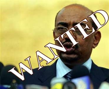 bashir:wanted for war crimes