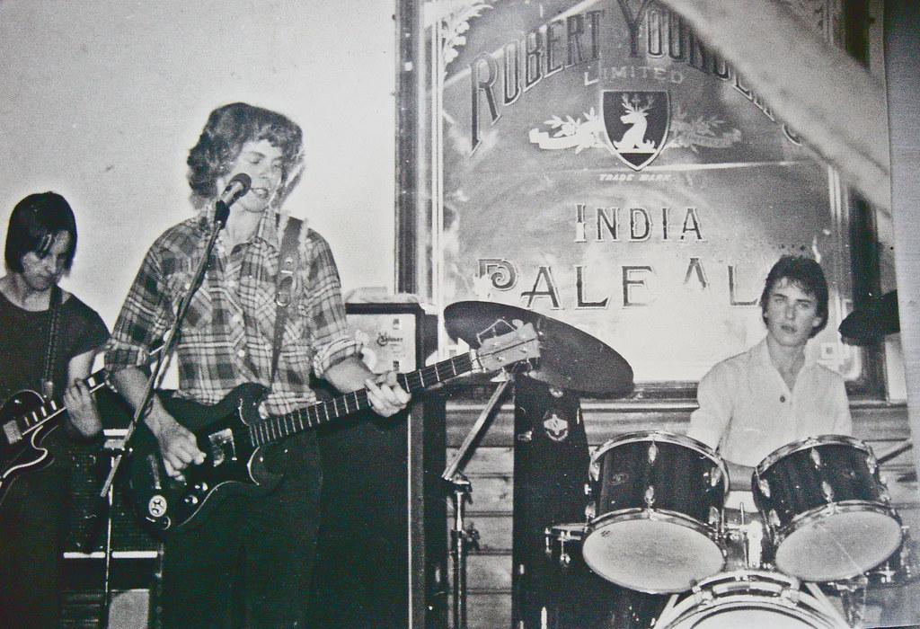 RocknRoll Hair Disaster Circa 1979