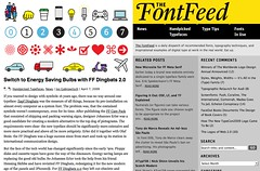 Switch to Energy Saving Bulbs with FF Dingbats 2.0 | The FontFeed_1239322069878