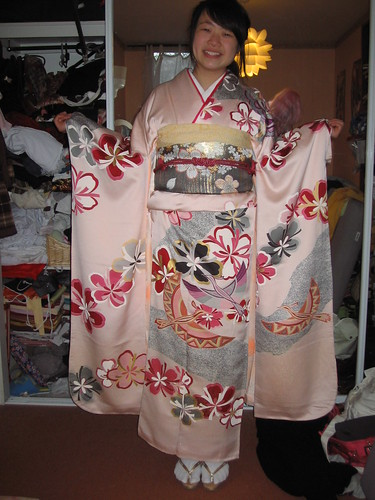 Friend in Furisode 1