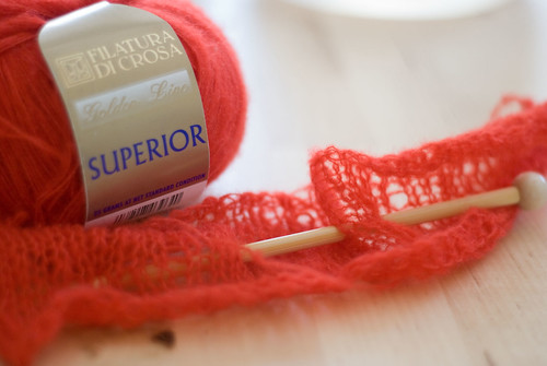 Knitting with Cashmere/Silk