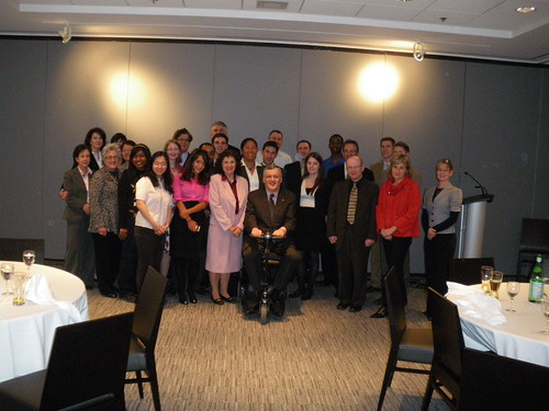 National Mentoring Program Lunch at the Toronto Board of Trade