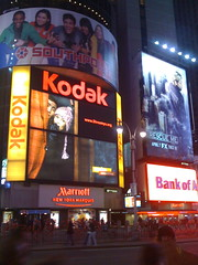 The Streamys on Times Square