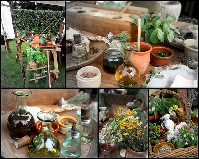 Herbalist's table
