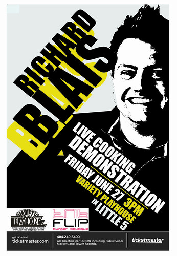 poster from promoter for blais event