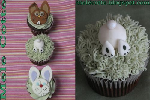 Mele Cotte Easter Cupcakes