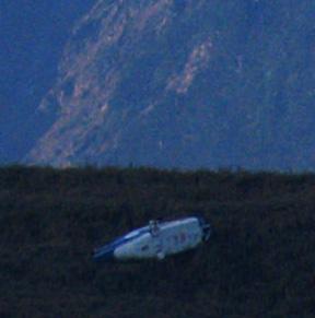 19-南湖大山東支稜地標物:直升機殘骸
