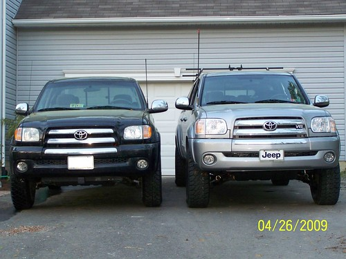 1st generation tacoma vs 2nd