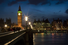 Big Ben and the Thames @ Twilight (DB-Photography) Tags: uk england london europe unitedkingdom parliament bigben westminsterbridge londonist unitiedkingdom platinumphoto top20bridges topazadjust davidballallrightsreserved