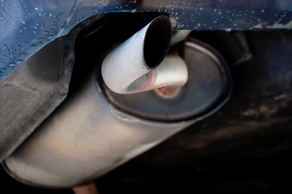 Car exhaust -- example photo with the Phottix Hero -- DSC_1056