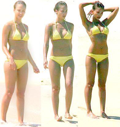 Something alba yellow bikini congratulate