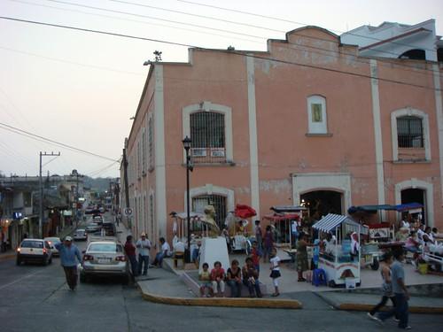 Papantla street life...